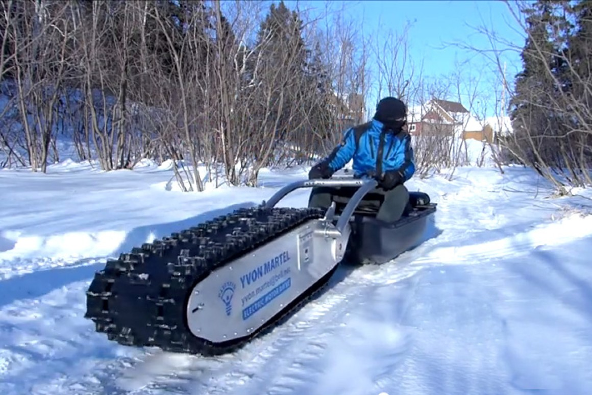 electric dog sled
