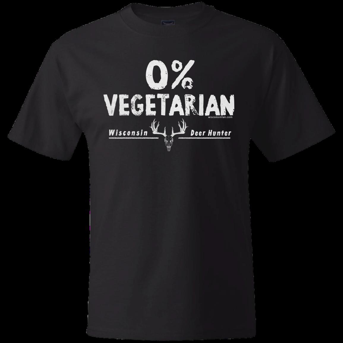 WisconsinFan 0% Vegetarian Mens Tshirt Tank