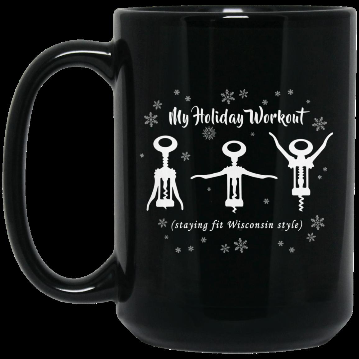 My Wisconsin Holiday Workout Coffee Mug